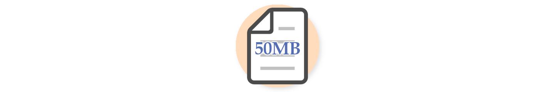 MySQLに容量制限がある